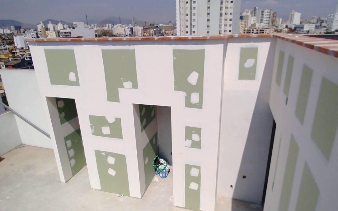 Licencia para construir con Drywall