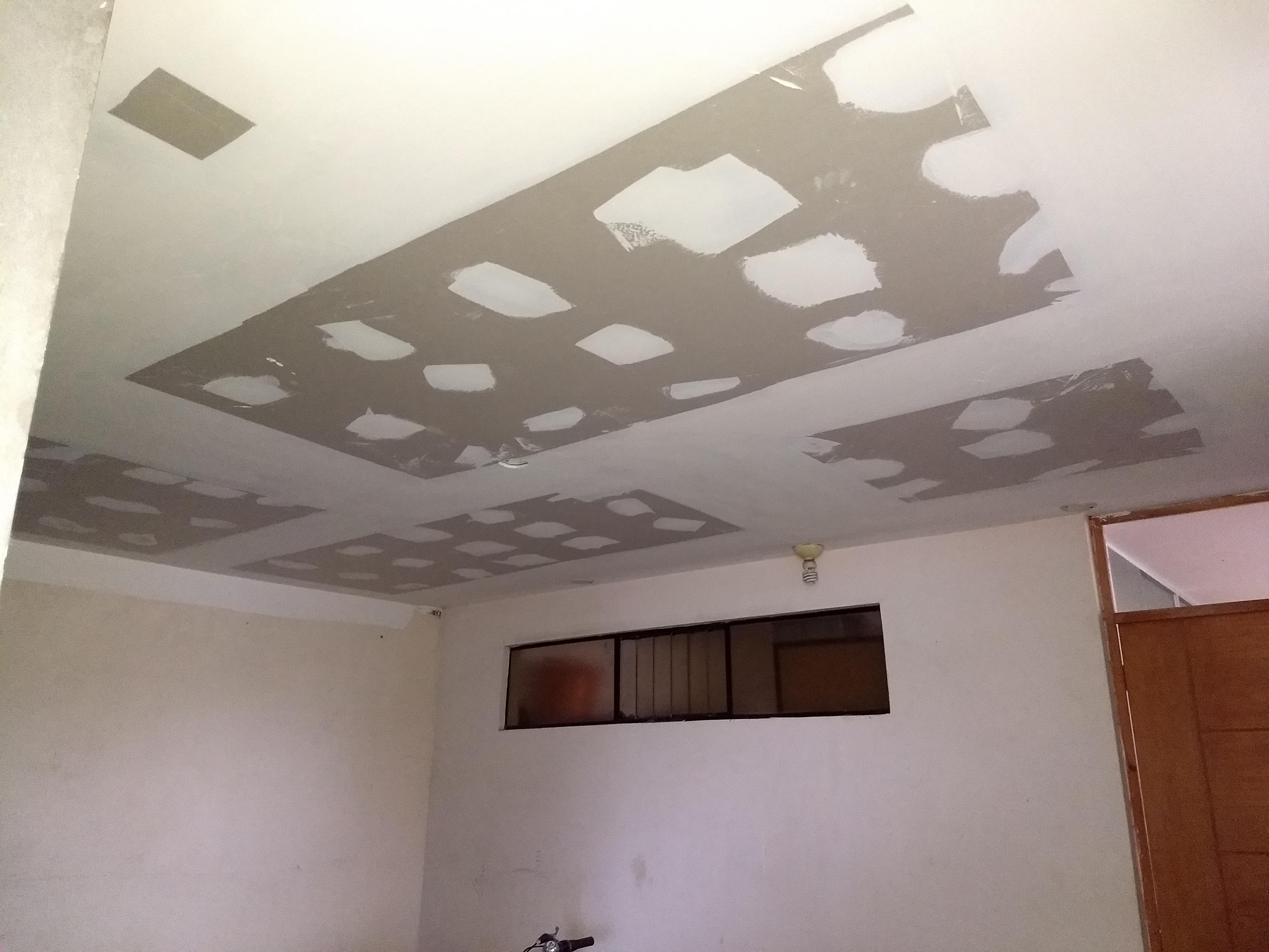 🥉 Techos drywall para cuartos