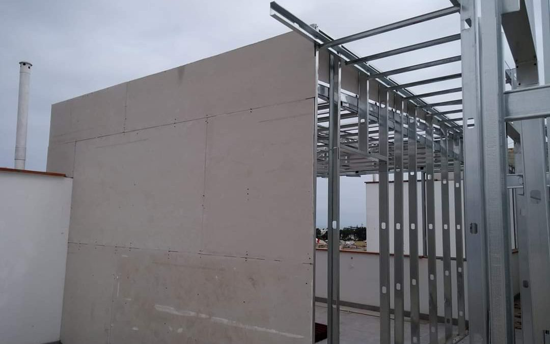 drywall vs ladrillo