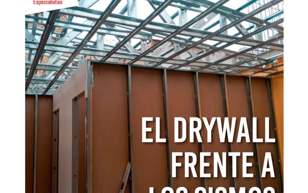 el drywall ante los sismos