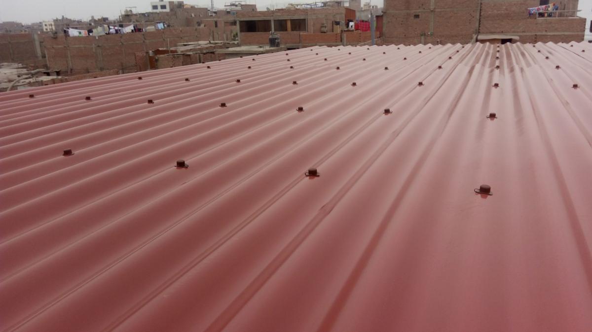 Techo de drywall con Fibraforte