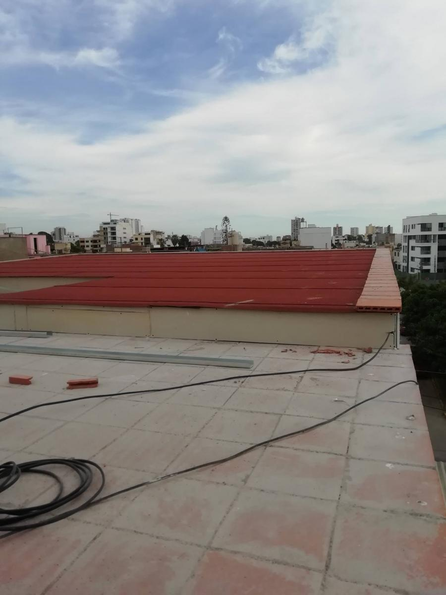 Techo manto asfaltico drywall hogarr