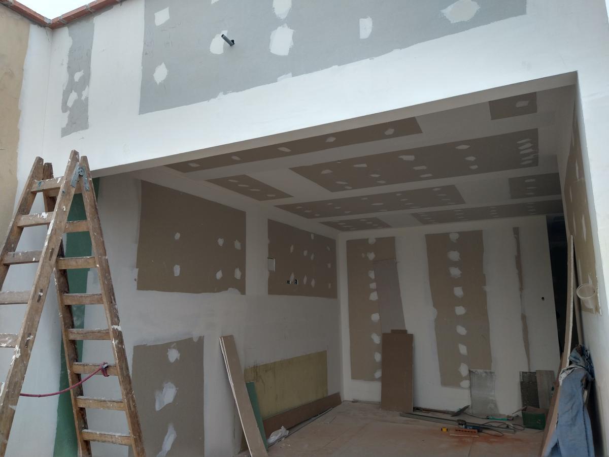 dúplex drywall dos 2 pisos